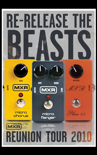 New MXR Micro Effects